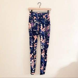 POP Fit Floral Athletic Pants With Pockets -Sz S